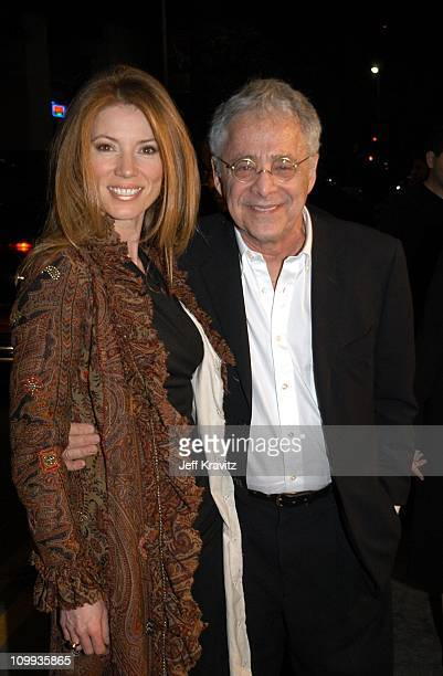 Mary Barris and Chuck Barris during Confessions of a Dangerous Mind Premiere at Mann Bruin Theatre in Westwood California United States