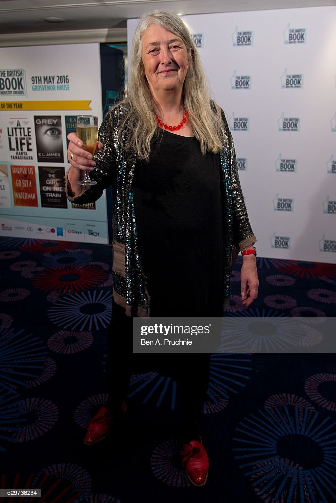 Mary Beard attends the 2016 British Book Industry Awards at the Grosvenor House Hotel on May 9, 2016 in London, England.