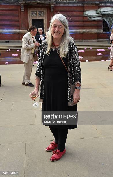 Mary Beard attends the 2016 VA Summer Party In Partnership with Harrods at The VA on June 22 2016 in London England
