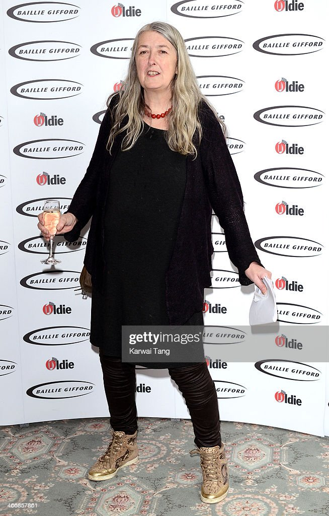 Mary Beard attends the Oldie of the Year awards at Simpsons in the Strand on February 4, 2014 in London, England.