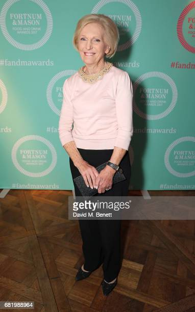 Mary Berry at the fifth annual Fortnum Mason Food and Drink Awards on May 11 2017 in London England