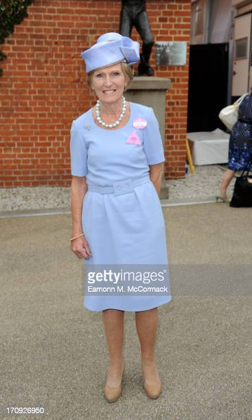 Mary Berry attends Ladies Day on Day 3 of Royal Ascot at Ascot Racecourse on June 20 2013 in Ascot England