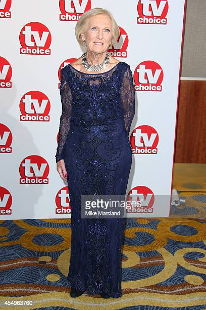 Mary Berry attends the TV Choice Awards 2014 at London Hilton on September 8 2014 in London England