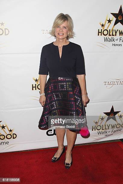 Mary Beth Evans attends the Hollywood Walk Of Fame Honors at Taglyan Complex on October 25 2016 in Los Angeles California