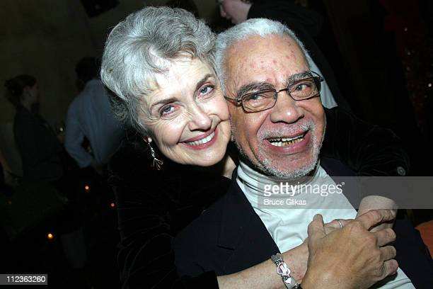Mary Beth Peil and Earle Hyman during Atlantic Theater Company Presents Harold Pinter's 'Celebration The Room' Broadway Opening Night at Earth in New...