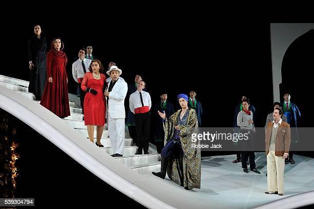 Mary Bevan as Elvira Katie Bray as Zulma Ezgi Kutlu as Isabella Luciano Botelho as Liondoro Quirijn de Lang as Mustafa and Riccardo Novaro as Taddeo...