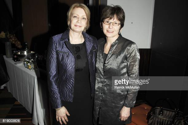 Mary Brady and Carmel O'Neill attend MOMENTUM WOMEN Honor Gila GamlielDemri hosted by Ceslie Armstrong Phyllis Heideman Cynthia Ekberg Tsai at Le...