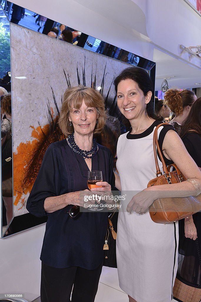Mary Burr and Isabelle Kellogg attend the Gotham Magazine Celebration of Its Featured Amazing Faces Of NYC Beauties on June 19, 2013 in New York City.