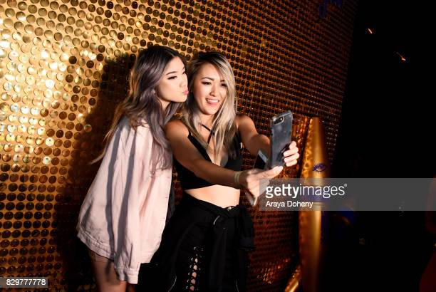 Mary Cake and Celine Linarte attend Maybelline New York Celebrates First Ever Cobranded Product Collection With Beauty Influencer Shayla Mitchell at...