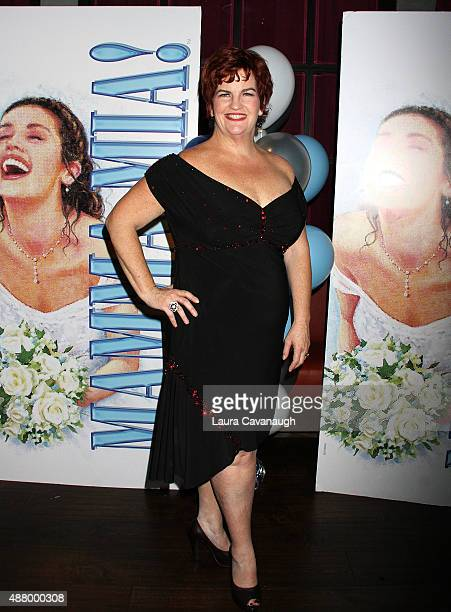 Mary Callanan attends the afterparty for 'Mamma Mia' Broadway final performance at The Broadhurst Theatre on September 12 2015 in New York City