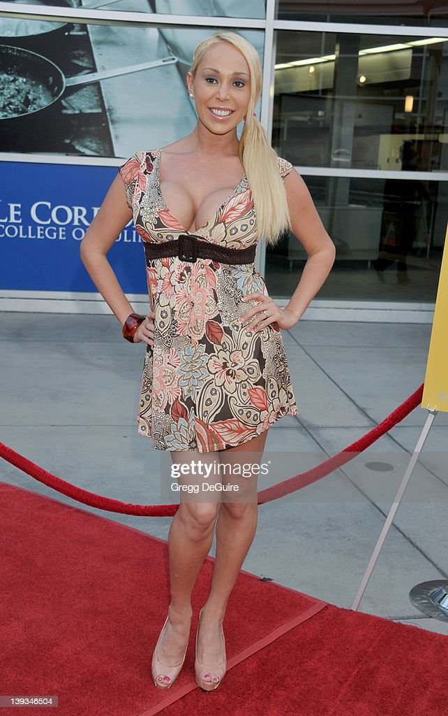 Mary Carey arrives at the Los Angeles Premiere of 'A Good Old Fashioned Orgy' at the ArcLight Theater on August 25 2011 in Hollywood California