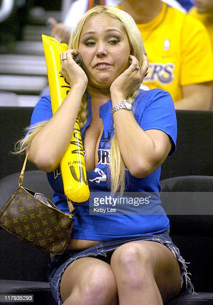 Mary Carey at Los Angeles Lakers' game against the Phoenix Suns at the Staples Center in Los Angeles Calif on Wednesday Dec 8 2004