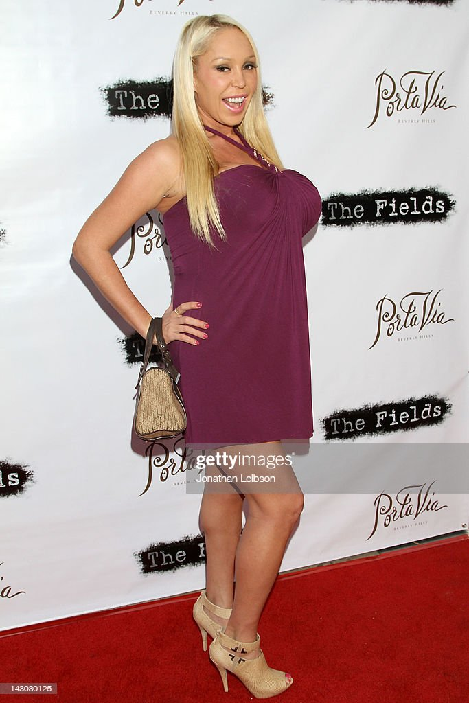 Mary Carey attends the 'The Fields' World Premiere From Breaking Glass Productions Starring Cloris Leachman And Tara Reid at Laemmle's Music Hall Theatre on April 17, 2012 in Beverly Hills, California.