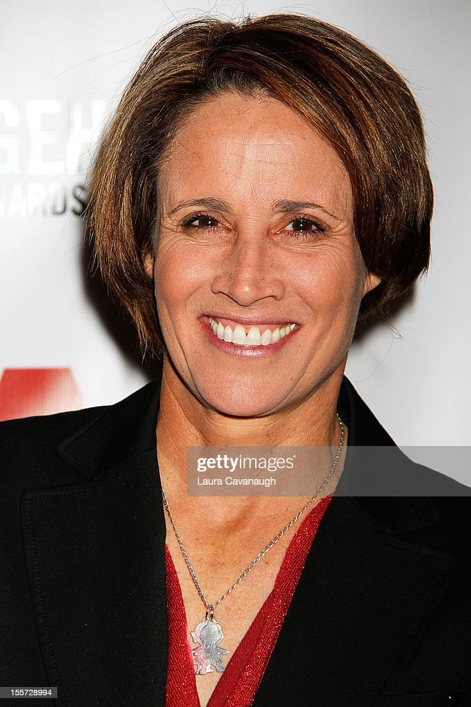 Mary Carillo attends the Greater New York Chapter's 18th Annual Lou Gehrig Sports Awards Benefit at the Marriott Marquis Hotel on November 7 2012 in...