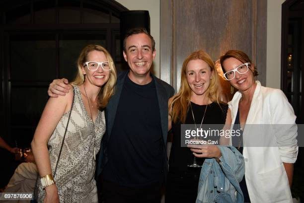 Mary Celeste Beall of Blackberry Farm Will Guidera of Make it Nice Cristina Tosi of Milk Bar and Muriel Schelke at the Starwood Preferred Guest...