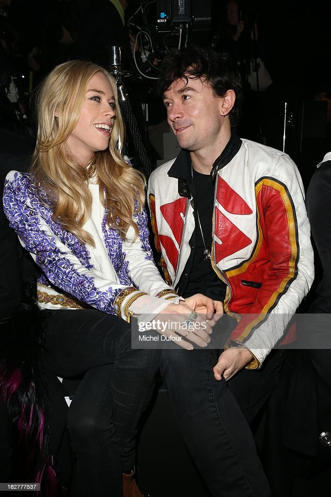 <a gi-track='captionPersonalityLinkClicked' href=/galleries/search?phrase=Mary+Charteris&family=editorial&specificpeople=4361110 ng-click='$event.stopPropagation()'>Mary Charteris</a> and Robertson Furze attend the Etam Live Show Lingerie at Bourse du Commerce on February 26, 2013 in Paris, France.