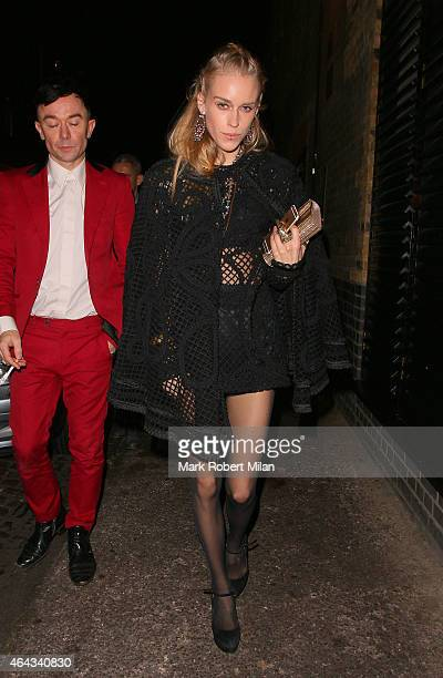 Mary Charteris at the Chiltern Firehouse on February 24 2015 in London England