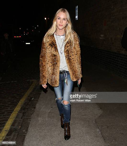 Mary Charteris at the Chiltern Firehouse on March 4 2015 in London England