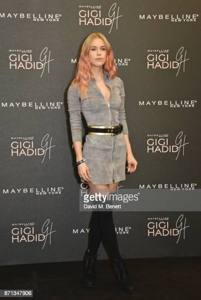 Mary Charteris attends a party hosted by Gigi Hadid to launch her new limitededition Maybelline collection on November 7 2017 in London England