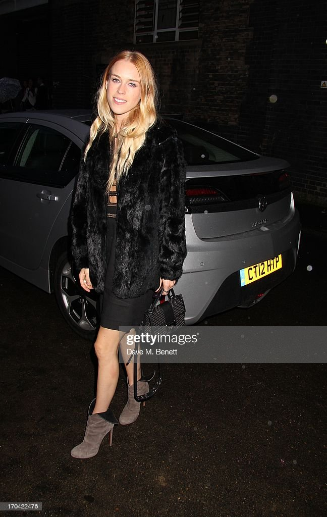<a gi-track='captionPersonalityLinkClicked' href=/galleries/search?phrase=Mary+Charteris&family=editorial&specificpeople=4361110 ng-click='$event.stopPropagation()'>Mary Charteris</a> attends Club DKNY in celebration of #DKNYARTWORKS hosted by Cara Delevingne with special performances by Rita Ora and Iggy Azalea at The Fire Station on June 12, 2013 in London, England.