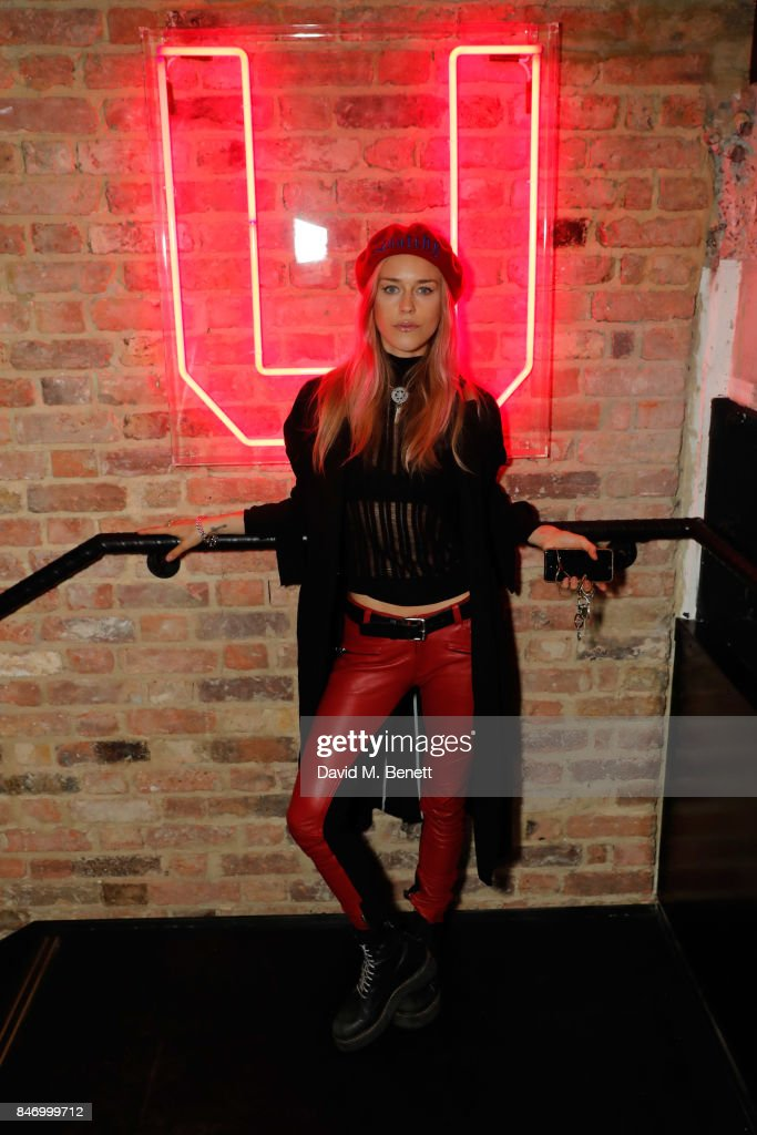 Mary Charteris attends KXU VIP launch on September 14, 2017 in London, England.