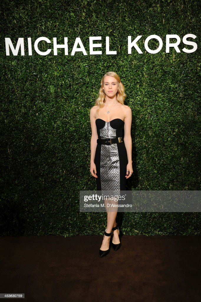 Mary Charteris attends Michael Kors To Celebrate Milano on December 4, 2013 in Milan, Italy.