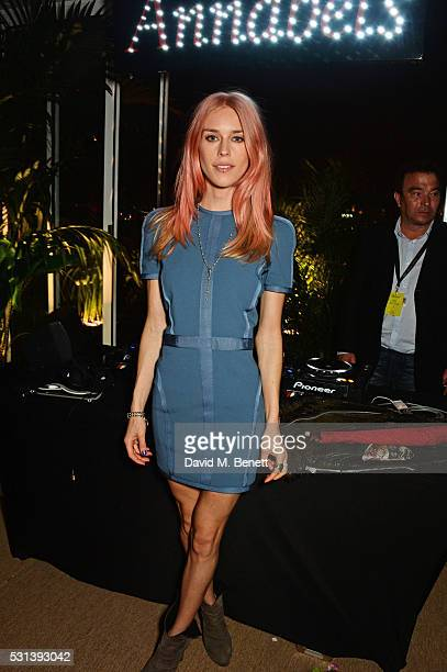Mary Charteris attends the Chopard x Annabel's Cannes party on May 14 2016 in Cannes France