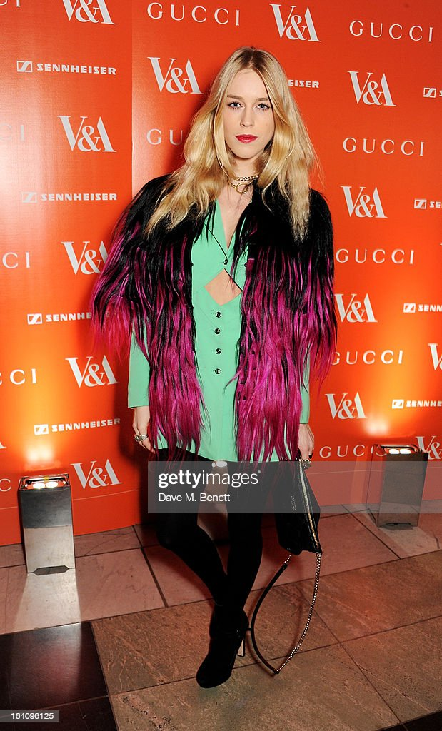 Mary Charteris attends the dinner to celebrate The David Bowie Is exhibition in partnership with Gucci and Sennheiser at the Victoria and Albert Museum on March 19, 2013 in London, England.