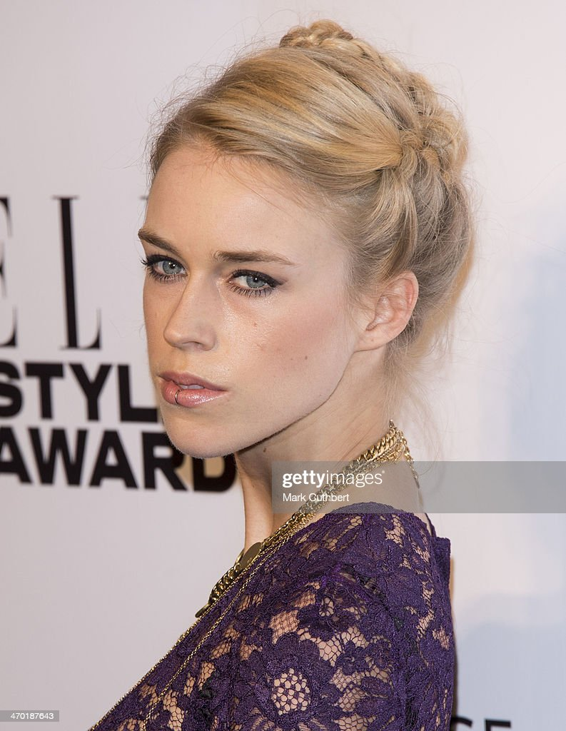 Mary Charteris attends the Elle Style Awards 2014 at one Embankment on February 18, 2014 in London, England.