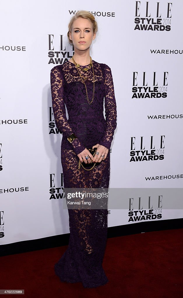 <a gi-track='captionPersonalityLinkClicked' href=/galleries/search?phrase=Mary+Charteris&family=editorial&specificpeople=4361110 ng-click='$event.stopPropagation()'>Mary Charteris</a> attends the Elle Style Awards 2014 at One Embankment on February 18, 2014 in London, England.