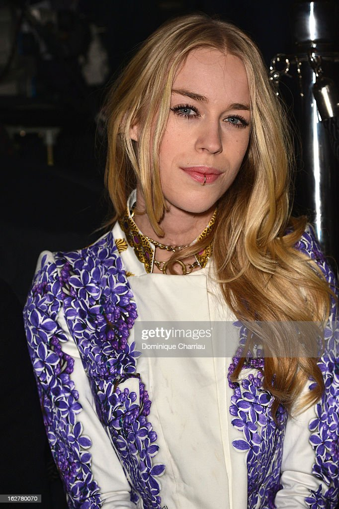 Mary Charteris attends the Etam Live Show Lingerie at Bourse du Commerce on February 26, 2013 in Paris, France.