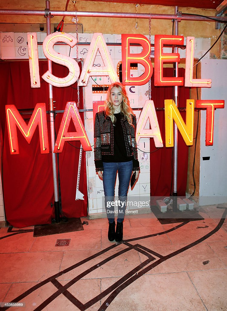 <a gi-track='captionPersonalityLinkClicked' href=/galleries/search?phrase=Mary+Charteris&family=editorial&specificpeople=4361110 ng-click='$event.stopPropagation()'>Mary Charteris</a> attends the Isabel Marant London dinner and party on December 5, 2013 in London, United Kingdom.