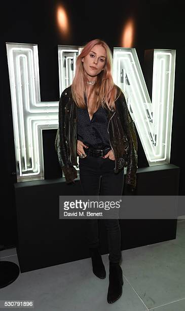 Mary Charteris attends the launch of Harvey Nichols new menswear department on May 11 2016 in London England