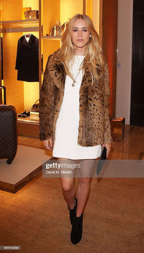 <a gi-track='captionPersonalityLinkClicked' href=/galleries/search?phrase=Mary+Charteris&family=editorial&specificpeople=4361110 ng-click='$event.stopPropagation()'>Mary Charteris</a> attends the launch of Louis Vuitton Townhouse at Selfridges on November 7, 2013 in London, England.