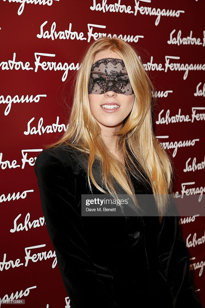 Mary Charteris attends the launch of the Salvatore Ferragamo London Flagship Store on Old Bond Street on December 5, 2012 in London, England.