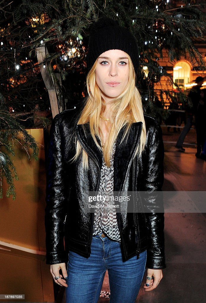 Mary Charteris attends the VIP launch of 'Coach Presents Skate' at Somerset House on November 13, 2013 in London, England.