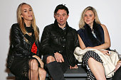 Mary Charteris Robbie Furze and Amber Atherton attend a dinner to celebrate SelfPortrait Studio's 1st Anniversary with Han Chong at Victoria Miro...