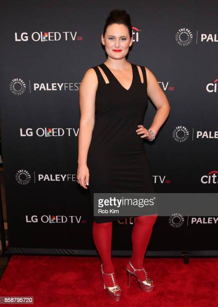 Mary Chieffo attends 'Star Trek Discovery' at The Paley Center for Media on October 7 2017 in New York City