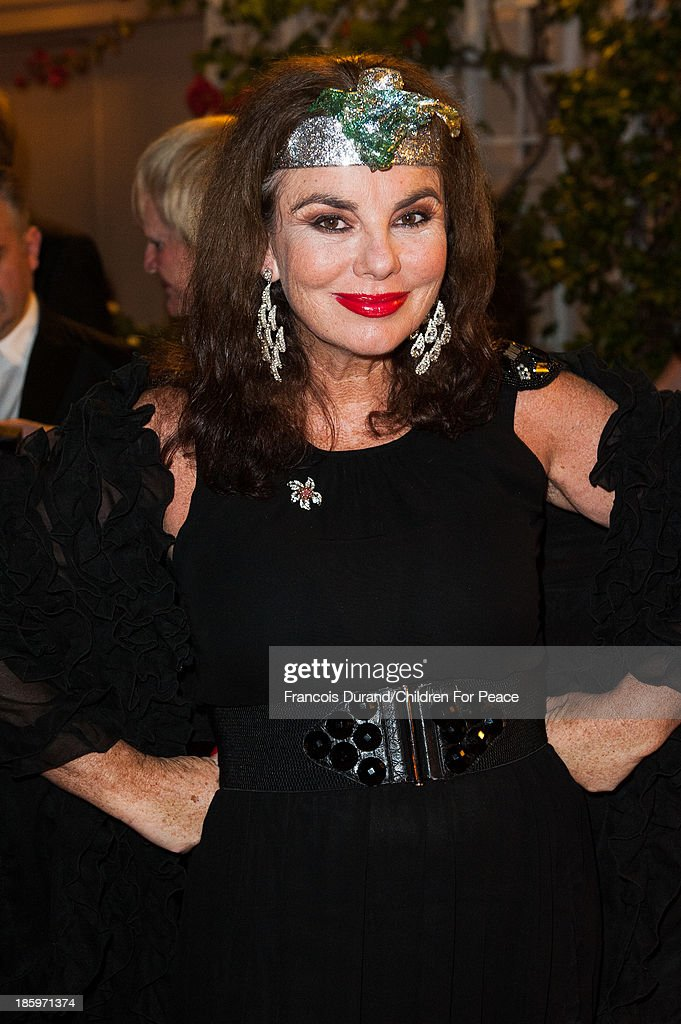 Mary Coles attends the 'Opera Romeo and Juliette' : Gala to the benefit of the The Children for Peace association, on October 26, 2013 in Monte-Carlo, Monaco.