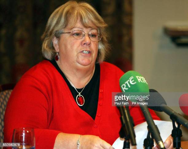 Mary Corry Shirley Finlay's foster mother until the age of 11 urged against any public backlash while speaking at a police appeal in Belfast after a...
