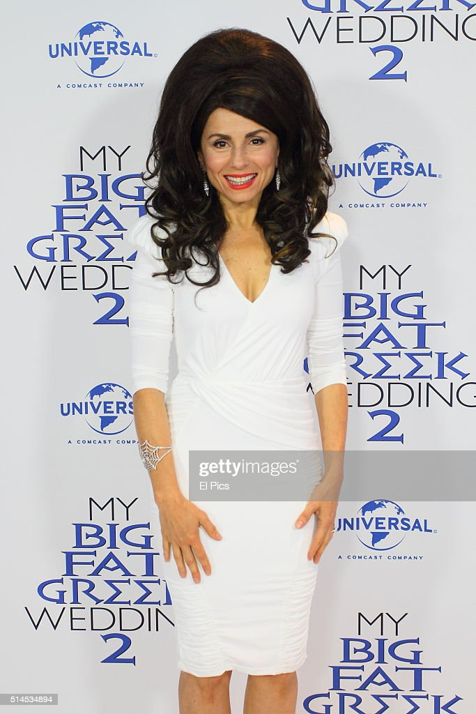 Mary Coustas arriving at the Sydney premiere of My Big Fat Greek Wedding March 6 2016 Sydney Australia