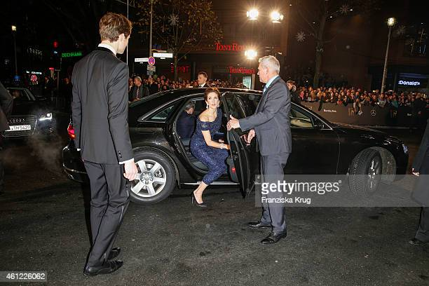 Mary Crown Princess of Denmark arrives at the Bambi Awards 2014 on November 13 2014 in Berlin Germany