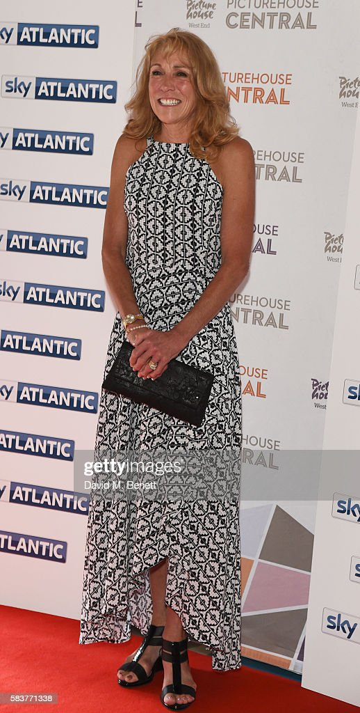 Mary Decker attends the premiere of the Sky Atlantic original documentary feature 'The Fall' at Picturehouse Central on July 27, 2016 in London, England.