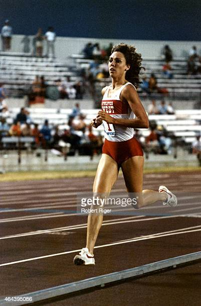 Mary Decker races circa 1980's
