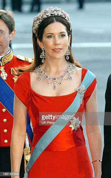 Mary Donaldson Attends A Gala Performance At The Royal Theatre In Copenhagen
