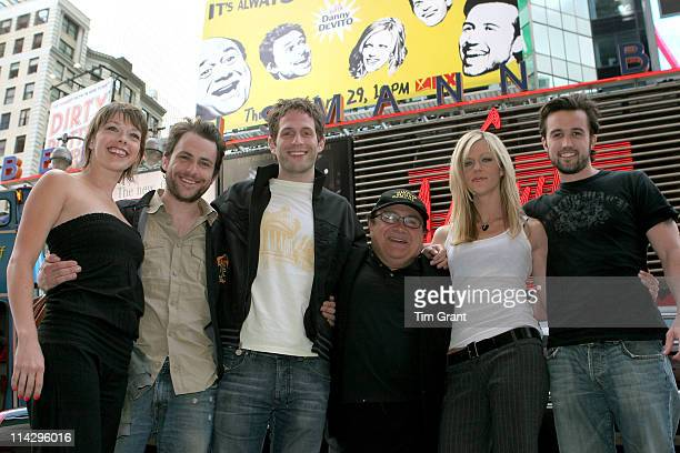 Mary Elizabeth Ellis Charlie Day Glenn Howerton Danny DeVito Kaitlin Olson and Rob McElhenney