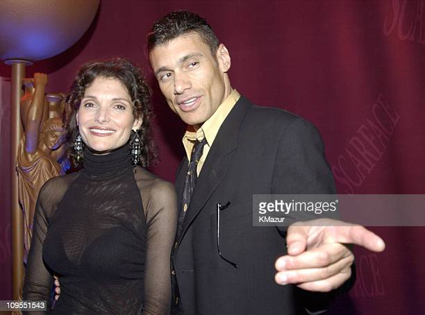 Mary Elizabeth Mastrantonio and Steven Bauer during 'Scarface' 20th Anniversary Rerelease Celebration After Party in New York City New York United...