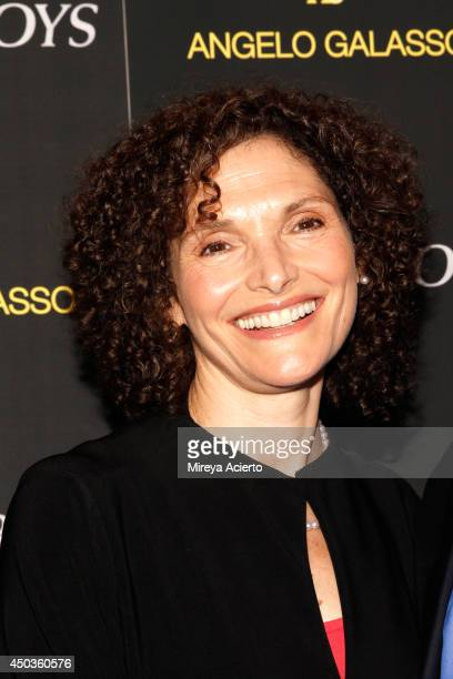 Mary Elizabeth Mastrantonio attends the 'Jersey Boys' Special Screening dinner at Angelo Galasso House on June 9 2014 in New York City