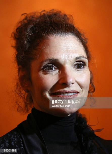 Mary Elizabeth Mastrantonio attends the Opening Night After Party for 'The Winslow Boy' at American Airlines Theatre on October 17 2013 in New York...