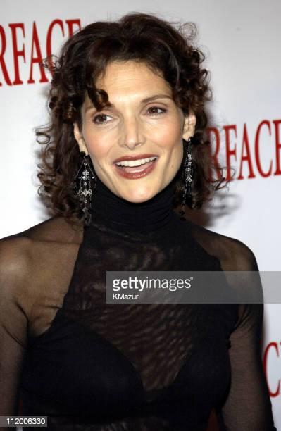 Mary Elizabeth Mastrantonio during 'Scarface' 20th Anniversary Rerelease Celebration at City Cinemas Theatres in New York City New York United States